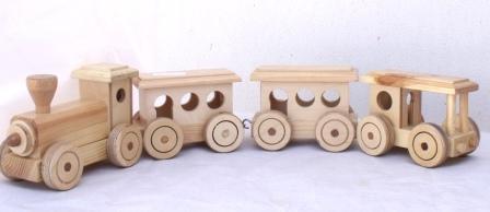 Wooden+train