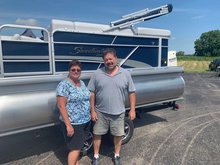 Mr & Mrs Krinn August 2019