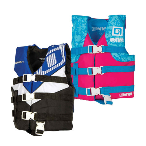 Obrien Child Nylon Blue/Pink Vest