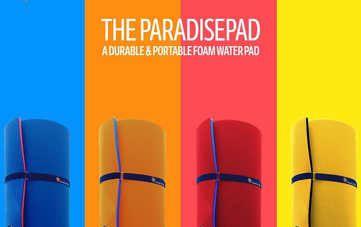 Paradise Pads, foam water pad