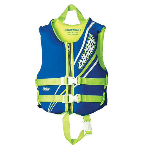 Obrien Boys Child Blue Vest