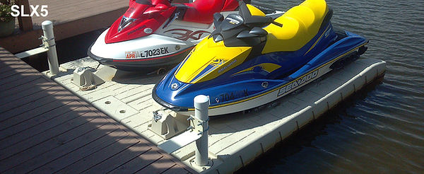 WaveArmor Wave Ports, Floating Jet Ski Lifts