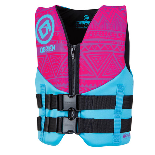 OBrien Pink Youth Vest