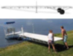 32' Hewitt Roll-A-Dock