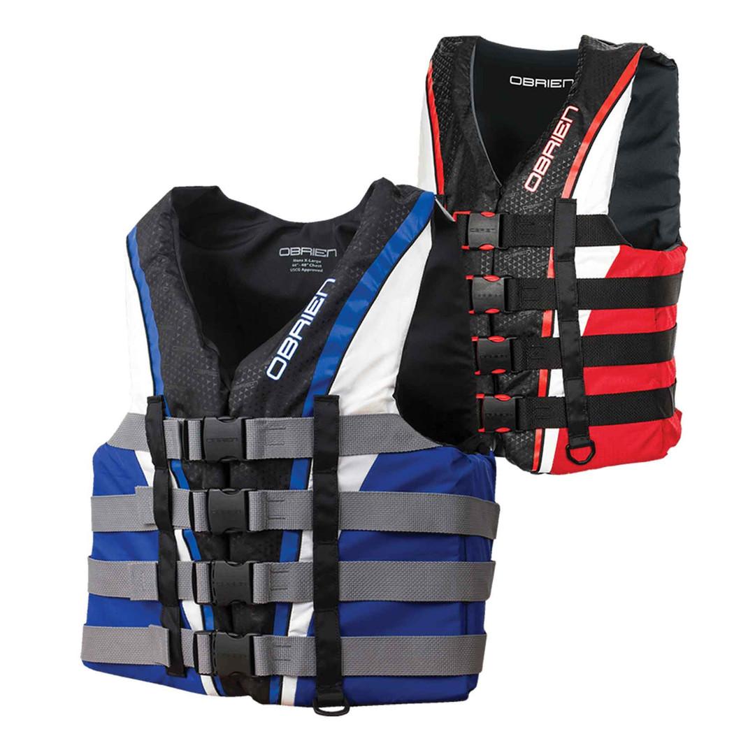 Obrien Mens 4-Belt Pro Vest