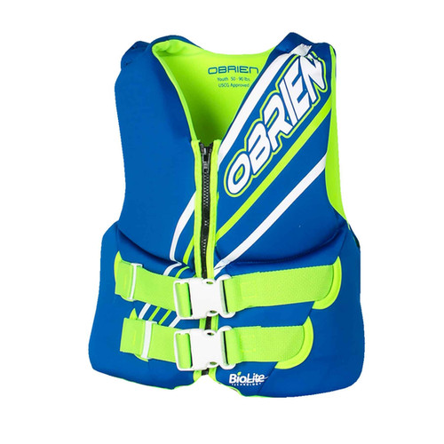 Obrien Boys Youth Vest Blue
