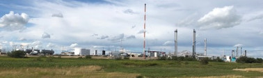 """'CNRL Gas Plant"""""""