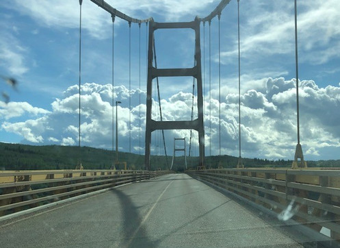 """Crossing the Dunvegan Bridge"""