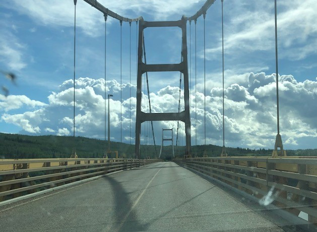 """Crossing the Dunvegan Bridge"""