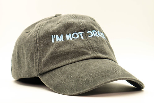 I'm Not Crazy Hat (Ice Blue)