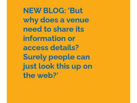 But why does a venue need to share its information or access details?