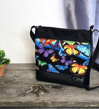 #410 Petit sac Percé papillon