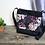 Thumbnail: #405 Petit sac Percé fleurs mauves