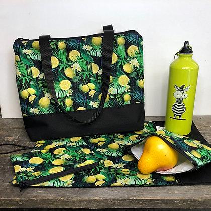 Sac a lunch citron