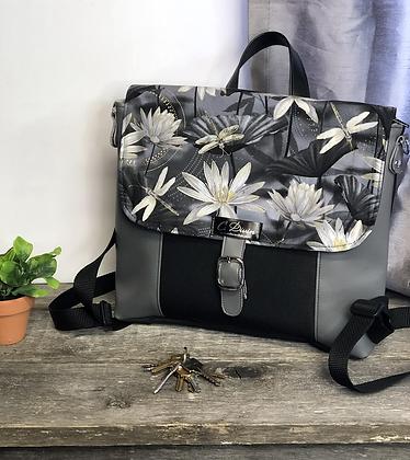 Sac à dos et sac transformable fleur de lotus