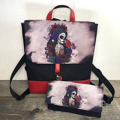 Sac a dos muerte rouge