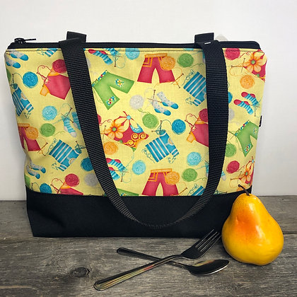 Sac a lunch tricot
