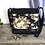 Thumbnail: #406 Petit sac Percé fleurs beiges