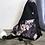 Thumbnail: #806 Sac à dos bandoulière fleurs