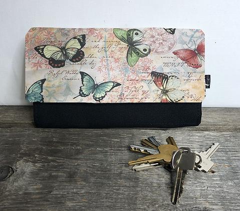 #713 Portefeuille papillon
