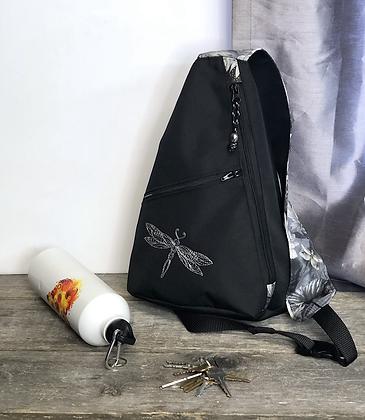 Sac à dos bandoulière libellule