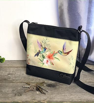 #400 Petit sac Percé colibris