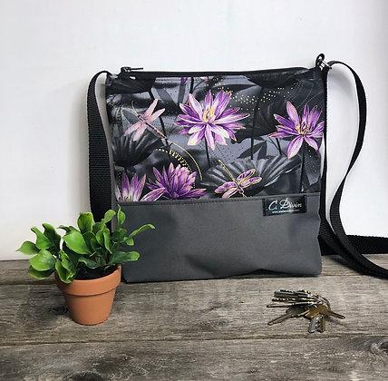 #403 Petit sac Mia gris lotus
