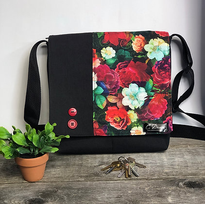 #104 Sac Québec floral
