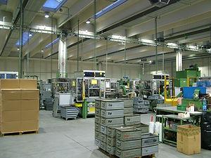 itap lumezzane reparto produttivo illuminazione a led industriale