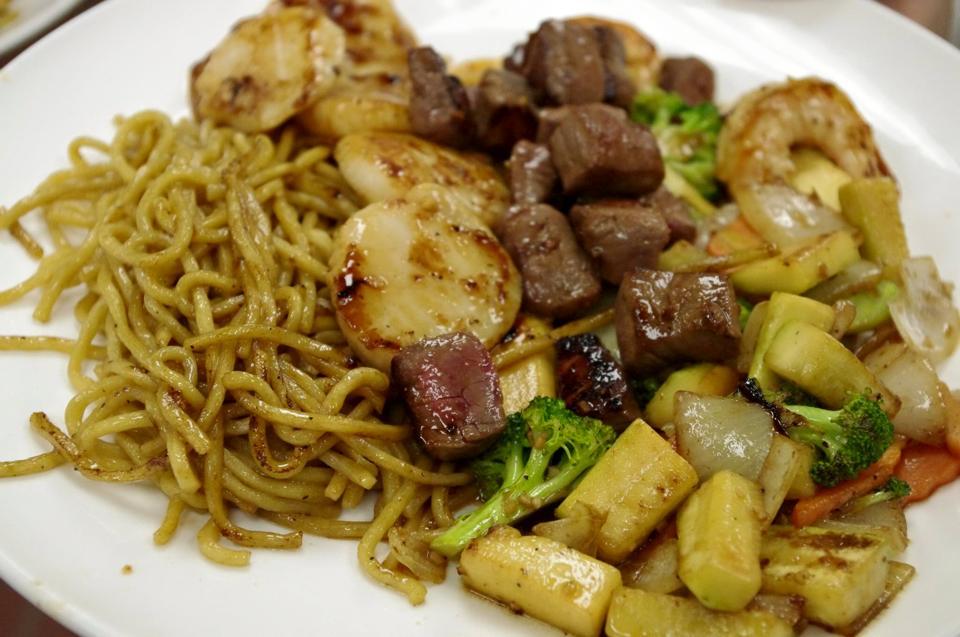 Hibachi Dinner