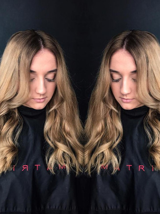 Root stretch and toned ends