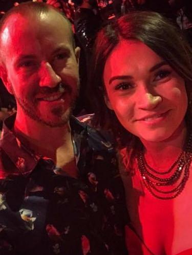 Brooke with Matt Johnson