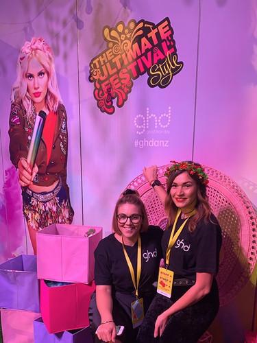 Sydney Fashion week 2019 with GHD
