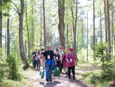 Finnish curriculum supports teachers to learn outside the classroom