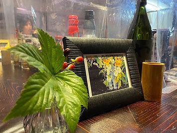 お酒とクリエ_名古屋市_千種区_店内_作品_デザイナー_クリエイター_イメージ