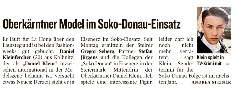 Kleine Zeitung 25.04.2015