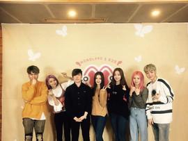 수능대박 프로젝트 그룹'모모랜드'와 유성욱 대표이사