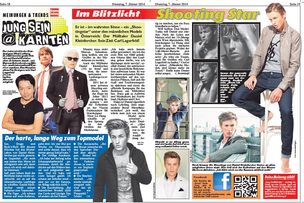 Kronen Zeitung (07.01.2014)