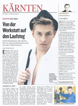 Kleine Zeitung 24.04.2013