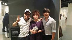 가수 '조영남' 선생님과 유성욱 대표이사