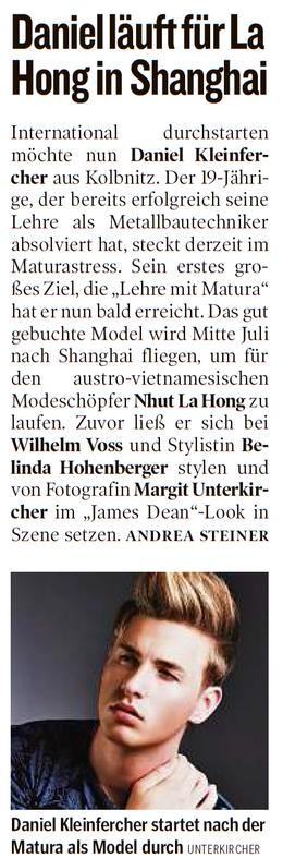 Kleine Zeitung 01.07.2014