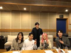 수능대박 프로젝트 스타BJ '양팡'과 유성욱 대표이사
