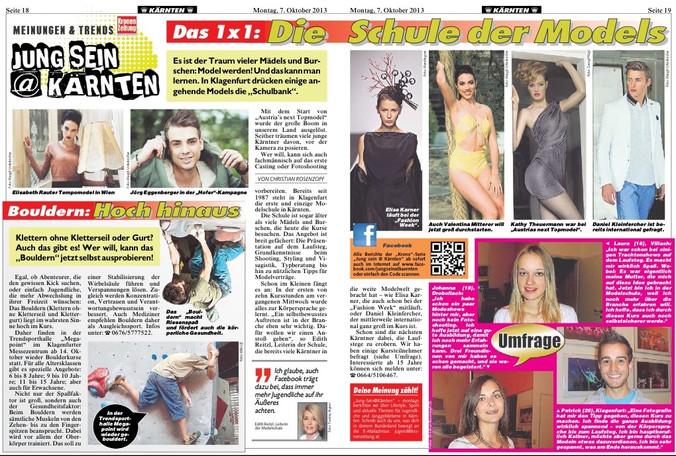 Kronen Zeitung (07.10.2013)