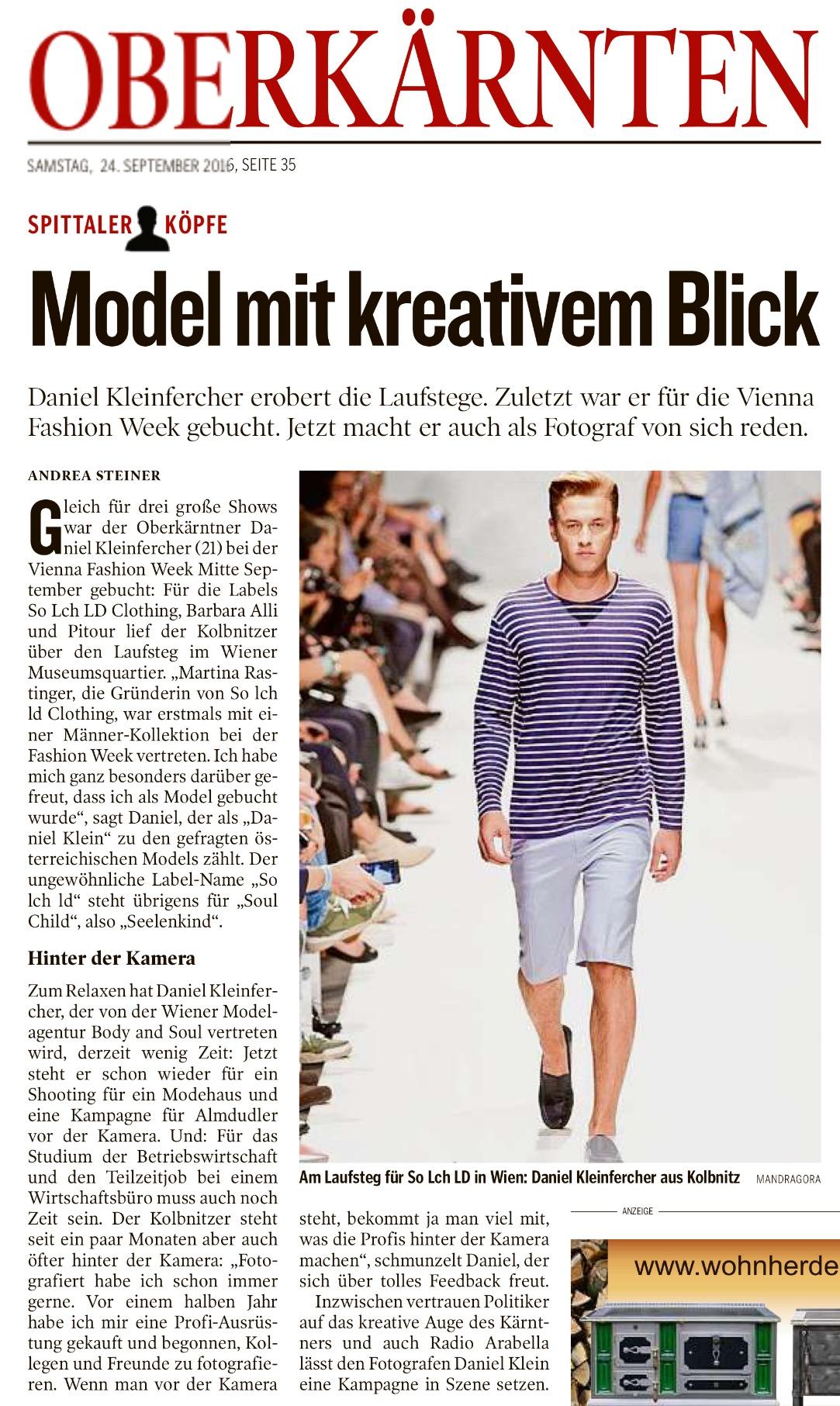 Kleine Zeitung - 24.09.2016