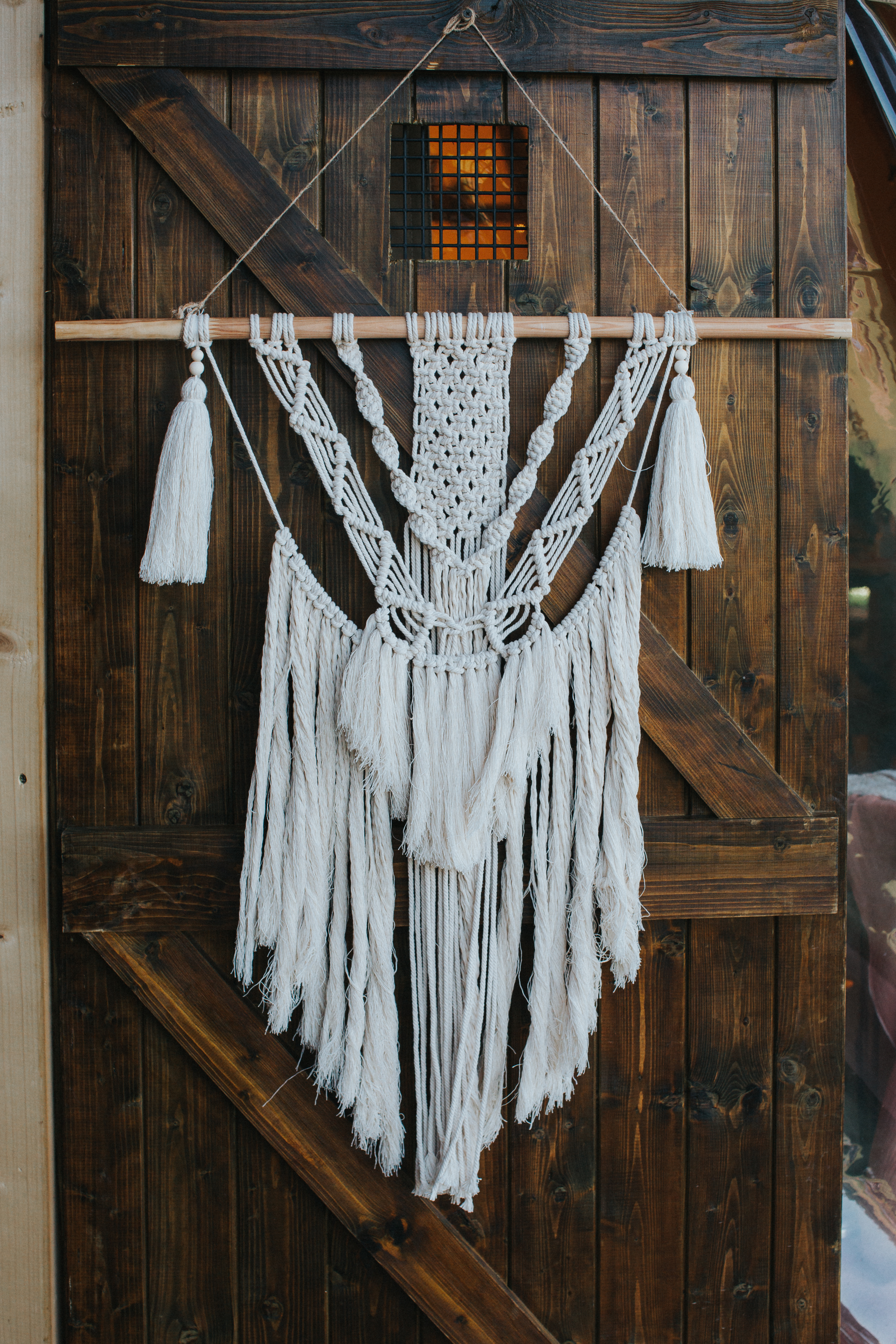 Macrame Hanging - Medium