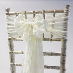 Cheesecloth Chair Cover