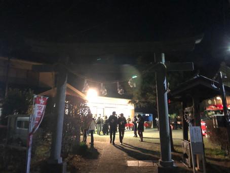 【事務所短信】杉山神社へ初詣