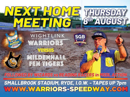 Meeting Preview - Warriors v Mildenhall (NL) And Wizards v Reading (MSDL)