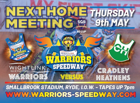 Meeting Preview - Warriors v Cradley (Knock-Out Cup)