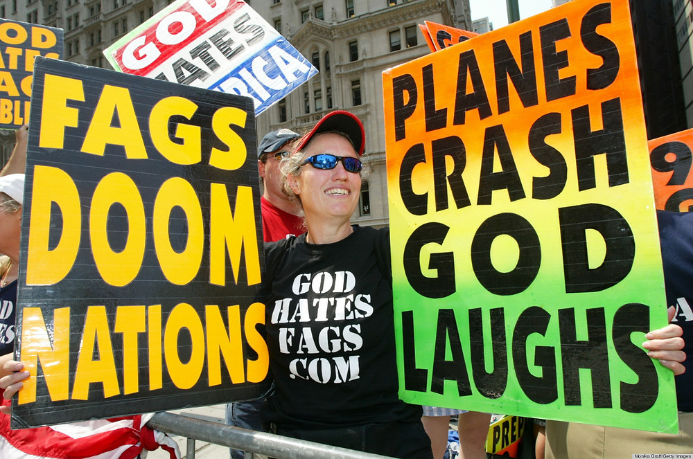 Our good friends at Westboro Baptist church